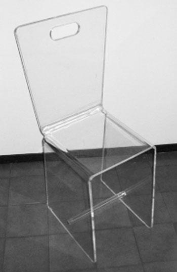 Realizzazione oggettistica e gadgets in plexiglas for Sedie in plexiglass